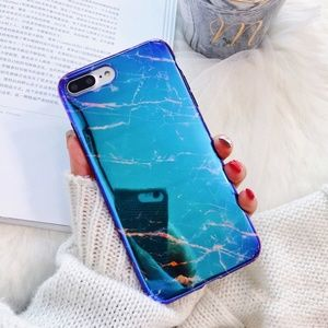 Accessories - NEW iPhone X/78+ Shining Marble Phone case